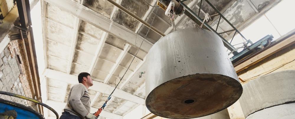 Производство бетонных колец